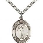 St. Sebastian Oval Golf Medal (large)