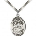 Holy Family Oval Medal  (large)