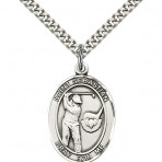 St. Sebastian Oval Golf Medal (large)