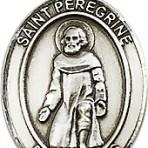 St. Peregrine Laziosi Pendant (large)