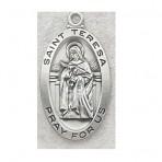 St. Teresa of Avila Oval medal