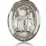 St. Valentine of Rome Oval Medal (large)