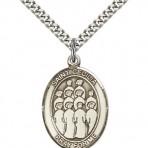 St. Cecelia Oval Choir Medal (large)