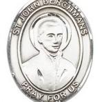St. John Berchmans Oval Medal (large)