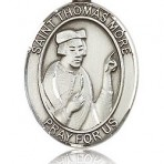 St. Thomas More Oval Medal  (large)